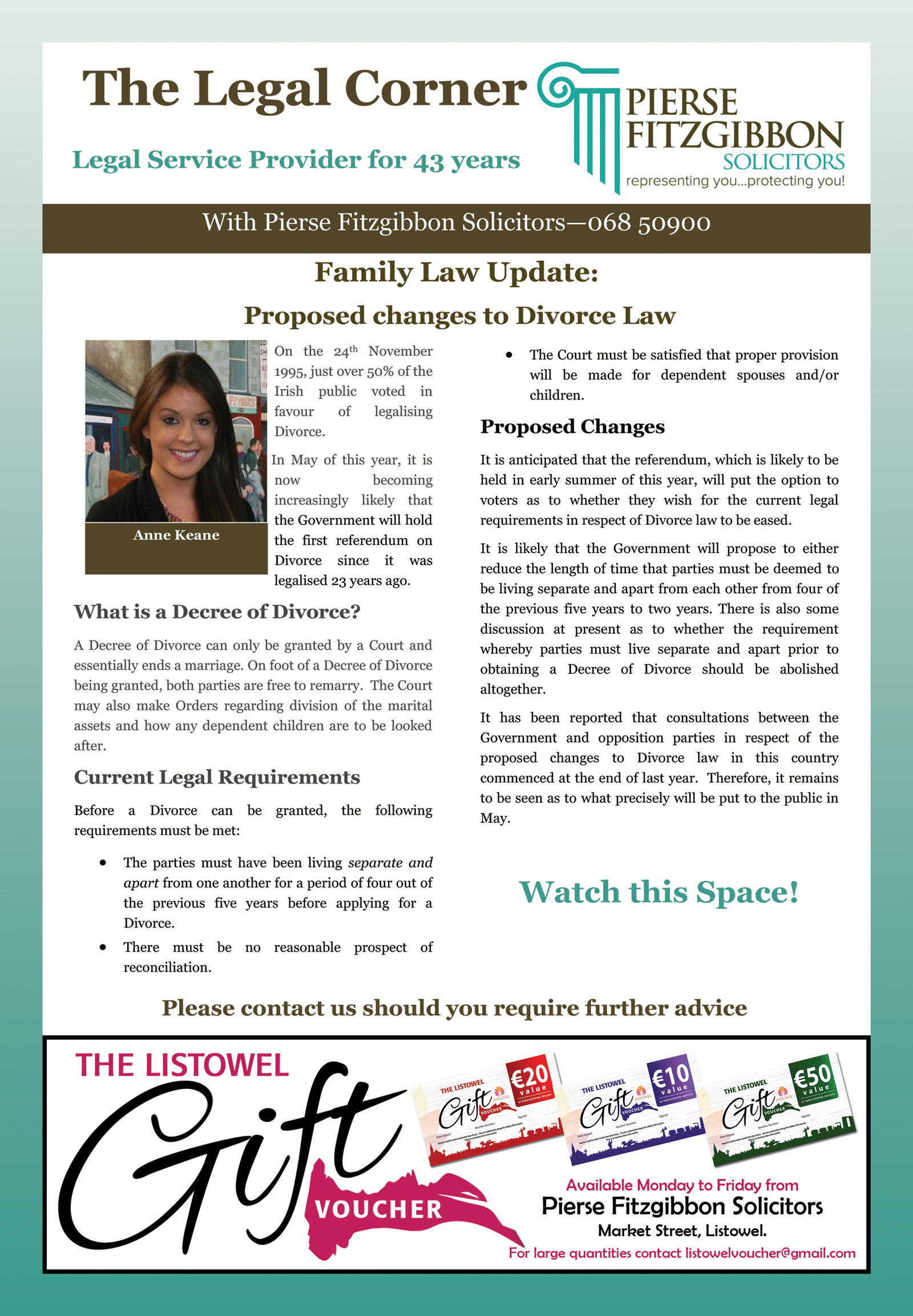 Family Law Update: Proposed changes to Divorce Law - The Advertiser
